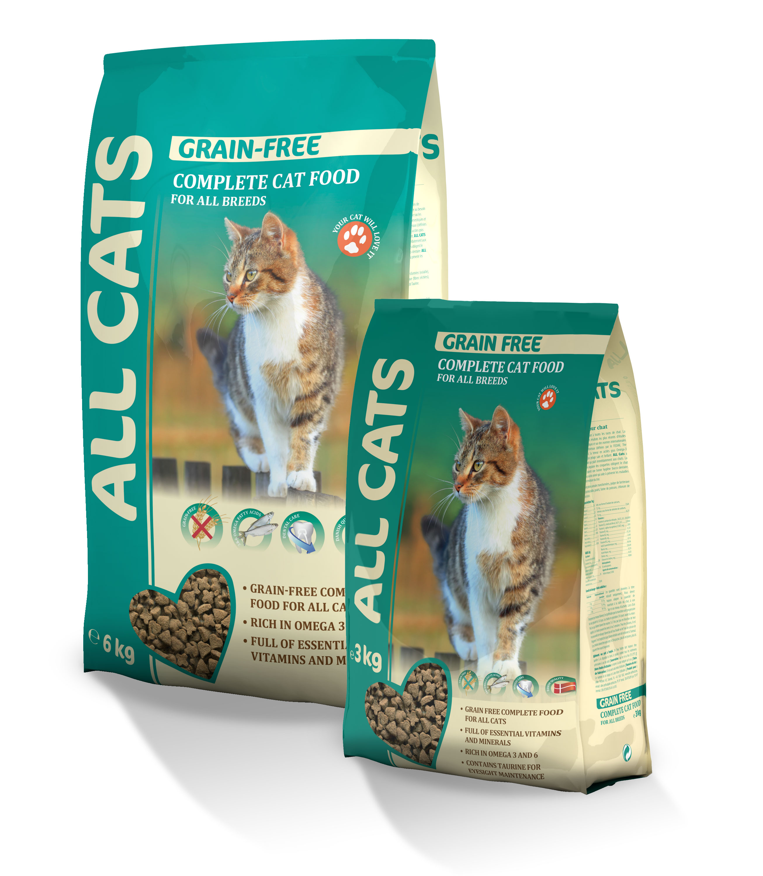 Information for pets: how and what to feed nursing cats