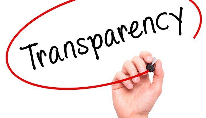 gennemsigtighed